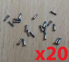 New Genuine Original OEM 20 x iPhone 5 5S Bottom Silver 5 Star Pentalobe Screws