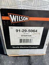 WILSON 91-29-5064 12 VOLT STARTER TOYOTA 2.4L Forklift 4P 2F 5P 5R 4Y 3F