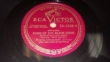RICARDO ODNOPOSOFF Song Of The Black Swan/ Perpetual NM! 78 RCA Victor 10-1228