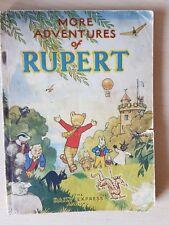Original 1947 More Adventures of Rupert Annual(no2) War Economy