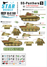Star Decals 1/35 SS-Panthers # 5. 3. SS-Totenkopf # 35-C1101