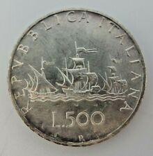 1968 Repvbblica Italiana L.500 Silver Coin M3553