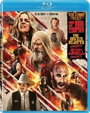 Rob Zombie Trilogy 3 From Hell House of 1000 Corpses Devil's Rejects Blu-ray