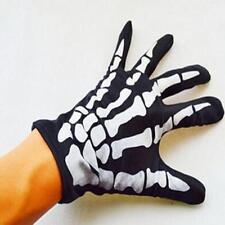 Dancing Skeleton Gloves Devil Skull Gloves Halloween Costume Dance DB
