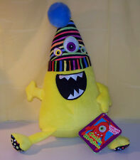 "SUGAR LOAF 16"" PLUSH STUFFED YELLOW CUDDLE MONSTERS MONSTER W/TAGS"