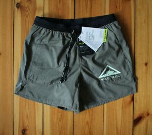 Nike Flex Stride Trail Running Shorts Laufhose kurz Olive Gr. S NEU CQ7949 205