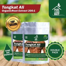 Tongkat Ali Root Extract 200:1   Muscle, Strength Increase & Libido Booster