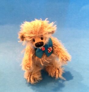 """DEB CANHAM'S BEST BOY FROM HOLD YOUR HEART COLLECTION 3 3/4"""" MOHAIR -JOINTED"""