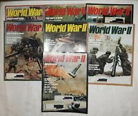 Lot Of 22 Issues of World War II Magazine - Includes issue #1