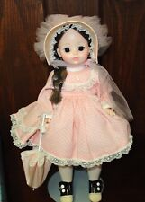 Madame Alexander doll Rebecca with stand and original box #1585