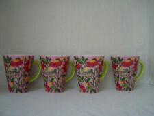 Four (4) Spode Kim Parker Home Emma's Garland Zinnia Mug