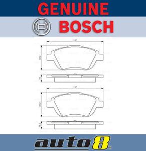 Bosch Front Brake Pads for Citroen Ds3 1.6 Thp A56 1.6L Petrol 5FV 2012 - 2015