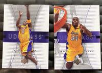 2003-04 Upper Deck Glass Kobe Bryant #24 Shaquille Oneal #25 NmMt PSA ?