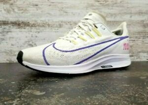Womens Nike Zoom Pegasus 36 JDI Running Shoes Sz 8 Used White Mesh BV5740 101
