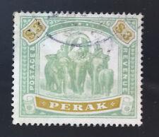 MALAYA PERAK  59  Beautiful  Used ELEPHANT Issue  OD b505