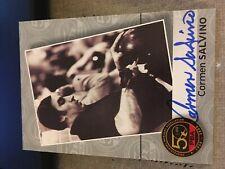 2009 PBA Bowling Autograph Carmen Salvino