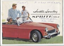 N°10007 /  catalogue AUSTIN HEALEY Sprite MK II