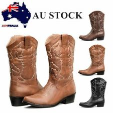 SheSole Womens Cowgirl Western Cowboy Boots Vintage Bridal Shoes Black Brown Tan