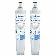 Fits Whirlpool 4396508 Refrigerator Water Filter Replacement by Refresh (2 Pack)