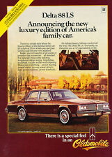 1984 Olds Oldsmobile Delta 88 LS -  Classic Vintage Advertisement Ad H90