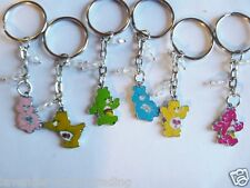 CUTE ENAMEL CARE BEARS KEYRING/Keychain/bag charm