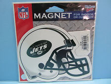 NFL NEW YORK JETS HELMET LOGO MAGNET - WINCRAFT SPORTS OFFICIALLY LICENSED NIP