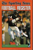 1985 Sporting News Football Register, magazine, Walter Payton, Chicago Bears