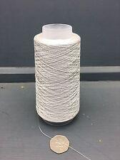 100g Silber Grau Farbe 2/80NM 100% Fein Seide Garn silver2