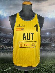 Austria National Team Beach Volleyball Jersey Trikot Shirt Size L