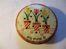 Vintage Fire King Tulip Pepper Shaker LID ONLY -Retro -Kitchen -Collectible