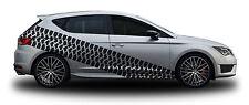 Tire Marks 01 Auto Aufkleber Set Tuning Design Reifenspuren Muster