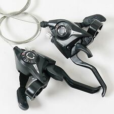 SHIMANO ST-EF51 3x8S Bike Bicycle Shifters Road Bike Shift/Brake Lever Set Black