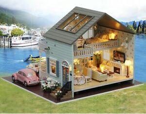 Dreams Assembling DIY Miniature Dollhouse Kits - Queen Twon