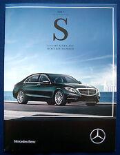 Prospekt brochure 2017 Mercedes S-Class Sedan * Mercedes-Maybach (USA)