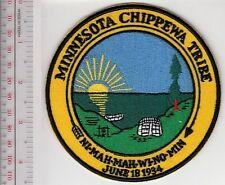 American Indian Tribe Seal Minnesota 6 Bands Chippewas & Ojibwes Bois Forte, Fon