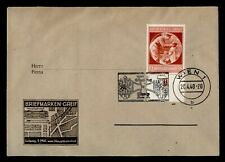 DR WHO 1940 GERMANY USED IN VIENNA AUSTRIA SLOGAN CANCEL CACHET  g41030
