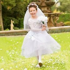 DeLuXe~CINDERELLA~White+Blue~WEDDING~Costume~Girls 4~XS~NWT~Disney Store