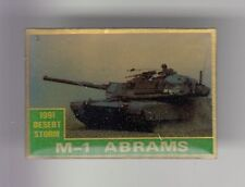 RARE PINS PIN'S .. ARMEE ARMY GUERRE CHAR TANK USA ABRAMS DESERT STORM 1991 ~DG