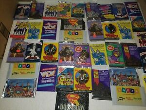 Hugh Lot of 100 Packs of Vintage Mixed Non - Sports Cards - Great Value