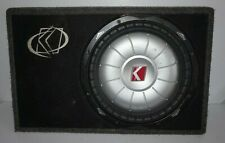 Kicker CVT 12 Subwoofer with Sealed Box 2 Omhs 07CVT122