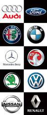 Loghi auto BANNER Outdoor/Indoor Garage, showroom, ufficio segno, BMW, Ford, AUDI