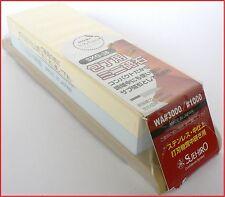 Japanese whetstone waterstone sharpening stone Suehiro1000/3000 toishi sharpener