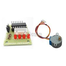 2PCS 12V 28BYJ-48 Stepper Motor + ULN2003 Stepper Motor Drive Test Module Board