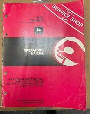 John Deere 4420 Combine Operator Manual Om H114177 D3 I 7
