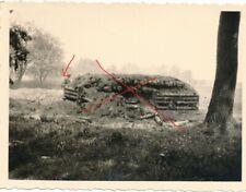 Nr. 28125 Foto 2, Wk Deutsche Wehrmacht  zerstörter  Bunker in Polen 7 x 9,5 cm