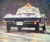 "1964 Chevrolet Corvette Sting Ray Convert *Original*print ""Ready to Display"" ad"