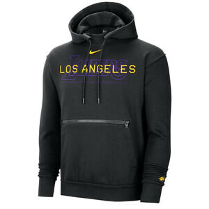 New 2020 NBA Finals Nike Los Angeles Lakers Courtside Global Exploration Hoodie