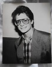 Michael J Fox Rare Picture BW 8X10 Back to the Future Marty McFly