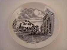 Upper Canada Village Ontario Small Souvenir Trinket Pin Dish Plate Woods & Sons