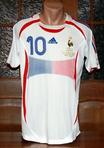 Zidane 2006 FIFA World Cup final soccer football jersey
